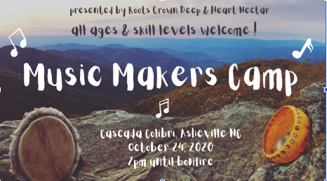 A flyer for Music Makers Camp.